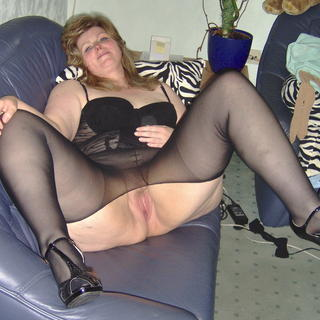 Damen in nylons