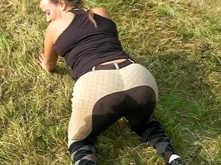 Sex in reithose