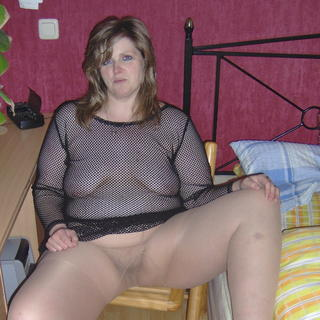 Sex finden mollige frauen in nylons
