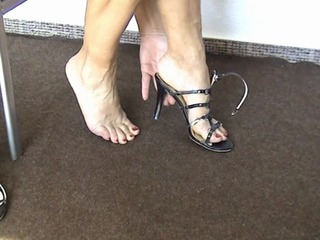 High-Heels schicke Sandalen