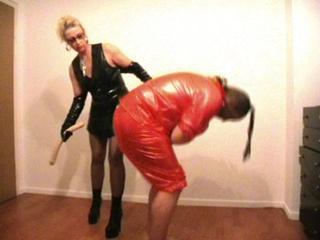 fetisch wolle spanking gürtel